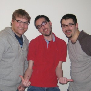Photo of Brett Madill, Scott Porteous, and Shaun Stewart